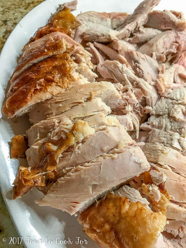 barbecued turkey