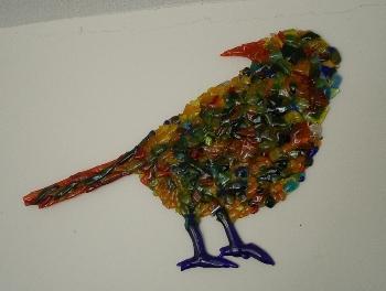 glasfusing bird
