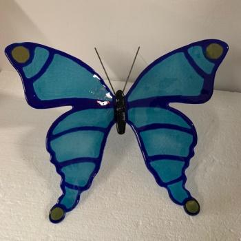 workshop vlinder glasverven