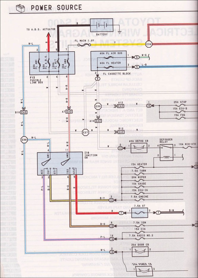 uzfe alternator wiring uzfe image wiring diagram lexus 1uz alternator wiring diagram wiring diagram on 1uzfe alternator wiring
