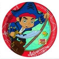 8 Plates Jake and Pirates 19cm [PR86236] - 2.20 ...