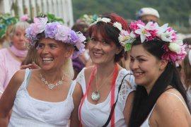 fowey regatta floral dance