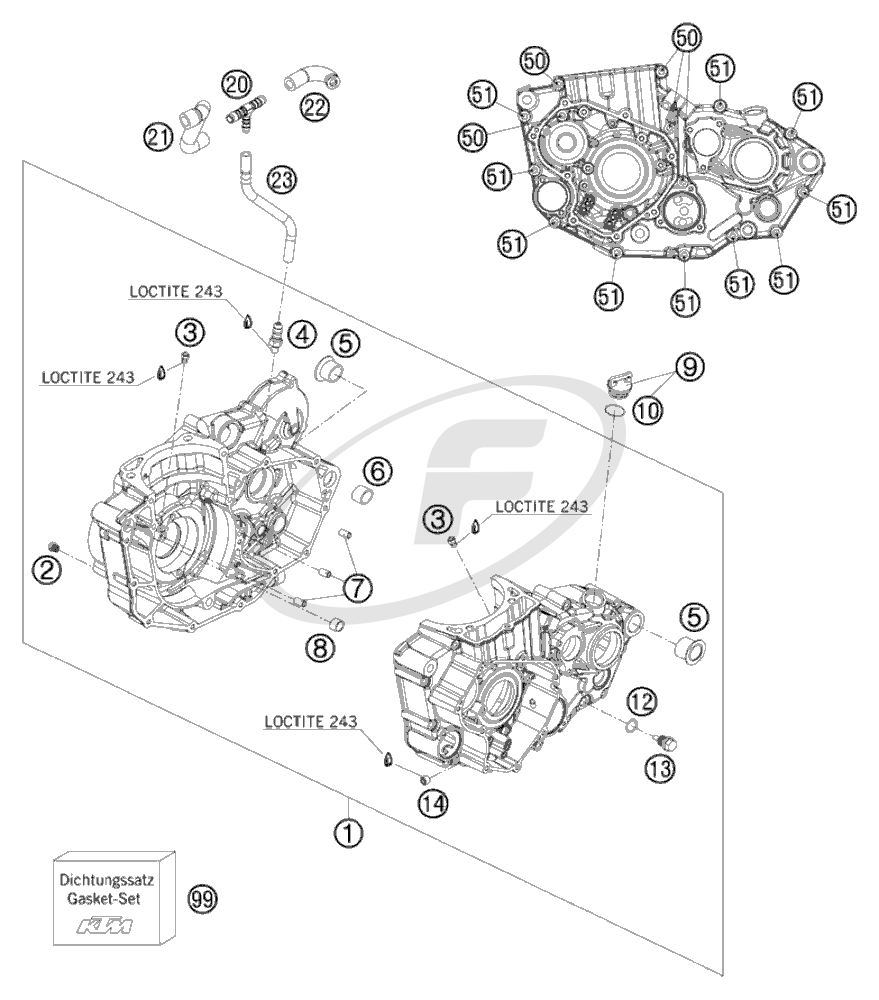 small resolution of engine breath hose exc 08 ktm