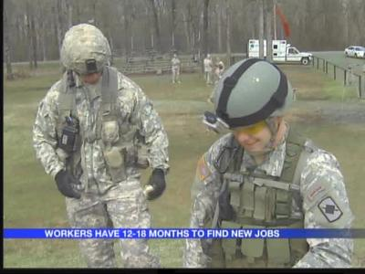 117 Arkansas Military Department employees to lose jobs_3651405048030839682