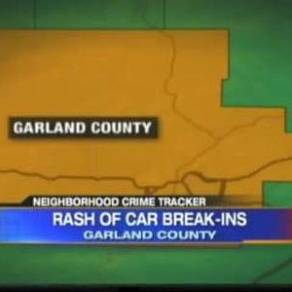 Garland County car break-ins_-367460683327124477