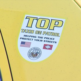 TOP Decal on Yellow Cab_-3531478210820485935