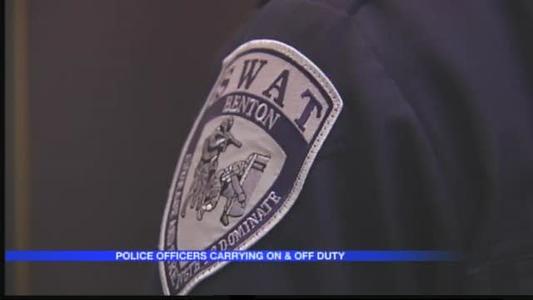 Benton Police Officers Packing Heat_-8297268255364855793