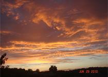 Sunset on Lake Hamilton_-7741229076283570922