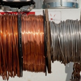 Copper wire on spool - Entergy pic_9082160999461177442