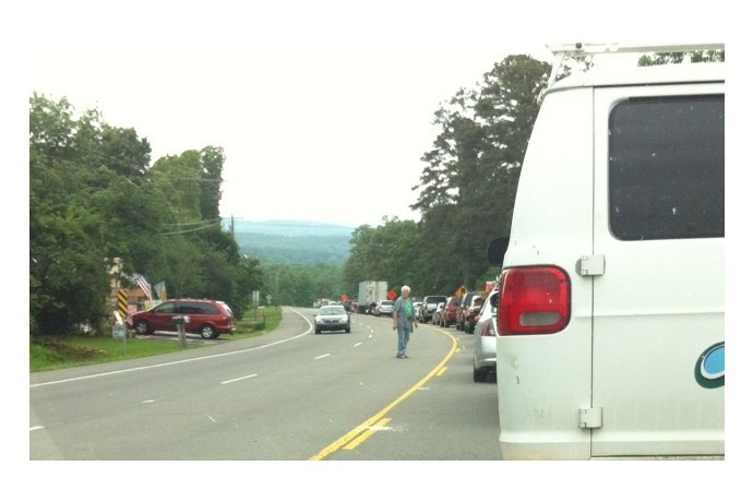Fatal accident backs up traffic in Clinton_-2996802071330144187