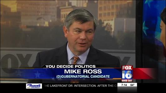 Democratic Gubernatorial Candidate Mike Ross_-1044171407543285327