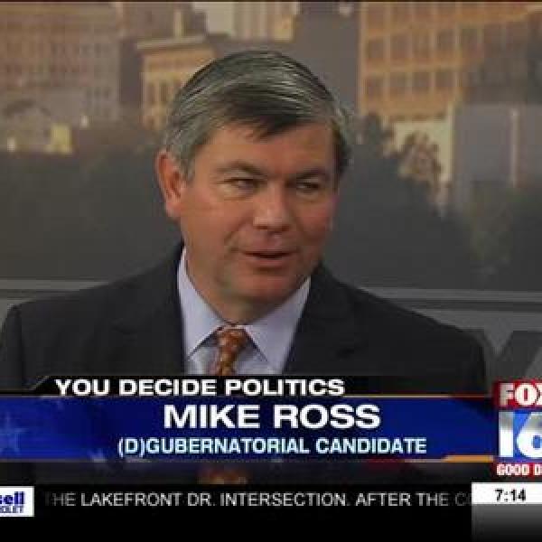 Democratic Gubernatorial Candidate Mike Ross_-1044171407543285327