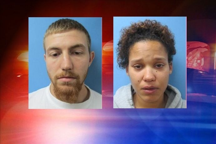 Jonathan Dean Riggs of Galesville, Illinois and his girlfriend, Khelsey Leigh Johnson, also of Galesville, Illinois._5263868513843170754