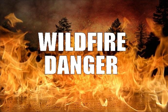 Wildfire Danger_1065476792758062591