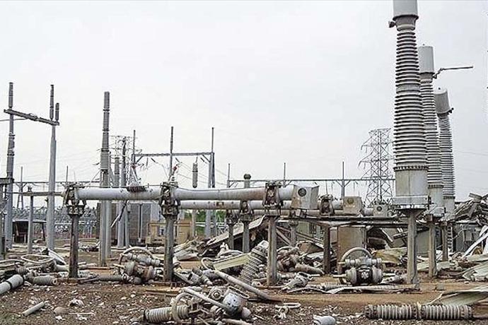 Mayflower substation destroyed in 2014 tornado_-5280594090299863430