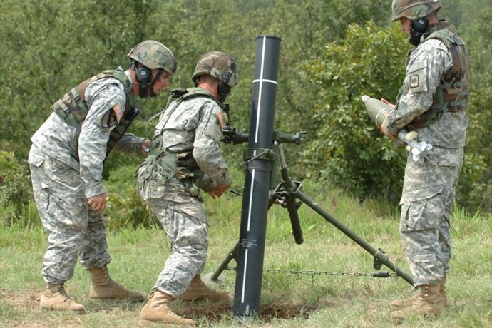 Mortar training Camp Robinson_-5449991114089739674