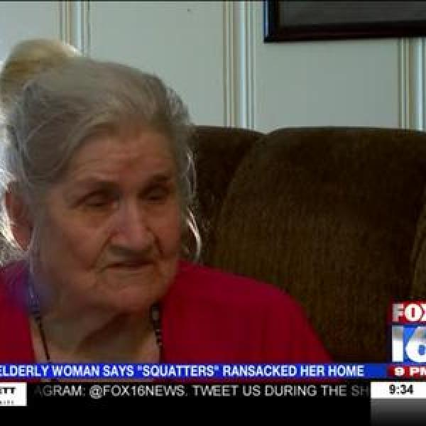 Elderly Woman Says 'Squatters' Burglarized Her Home_-8753169632460845594