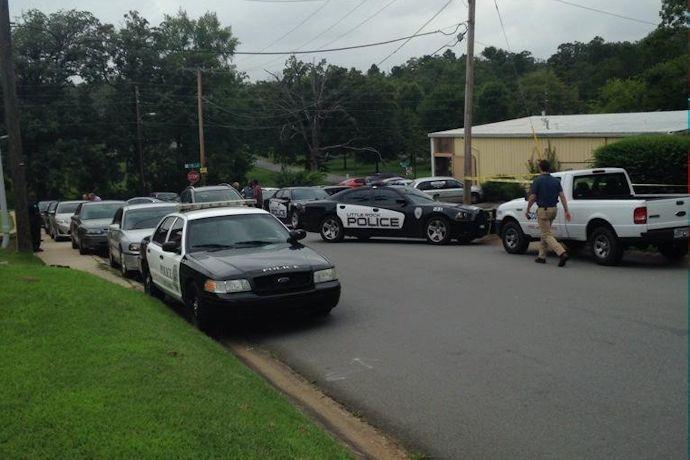 Jackson Street homicide scene in Little Rock_3940617131406803733