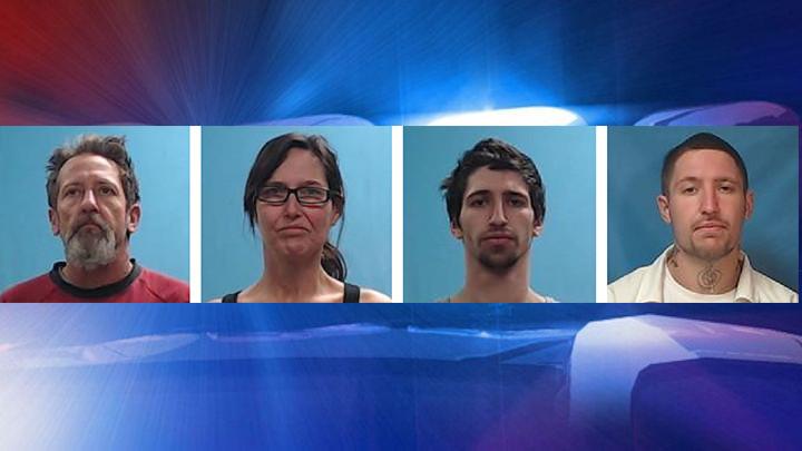 2 Men and Parents Arrested in Boone Co  Drug Investigation