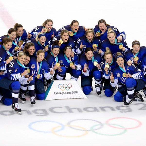 Team USA Celebrating Hockey Win 1-54729046