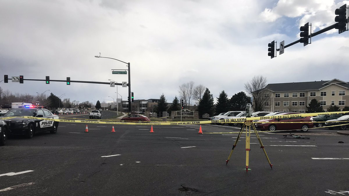A bicyclist who was hit by a dump truck at the intersection of Fillmore Street and Union Boulevard Tuesday afternoon has died of his injuries. Carly