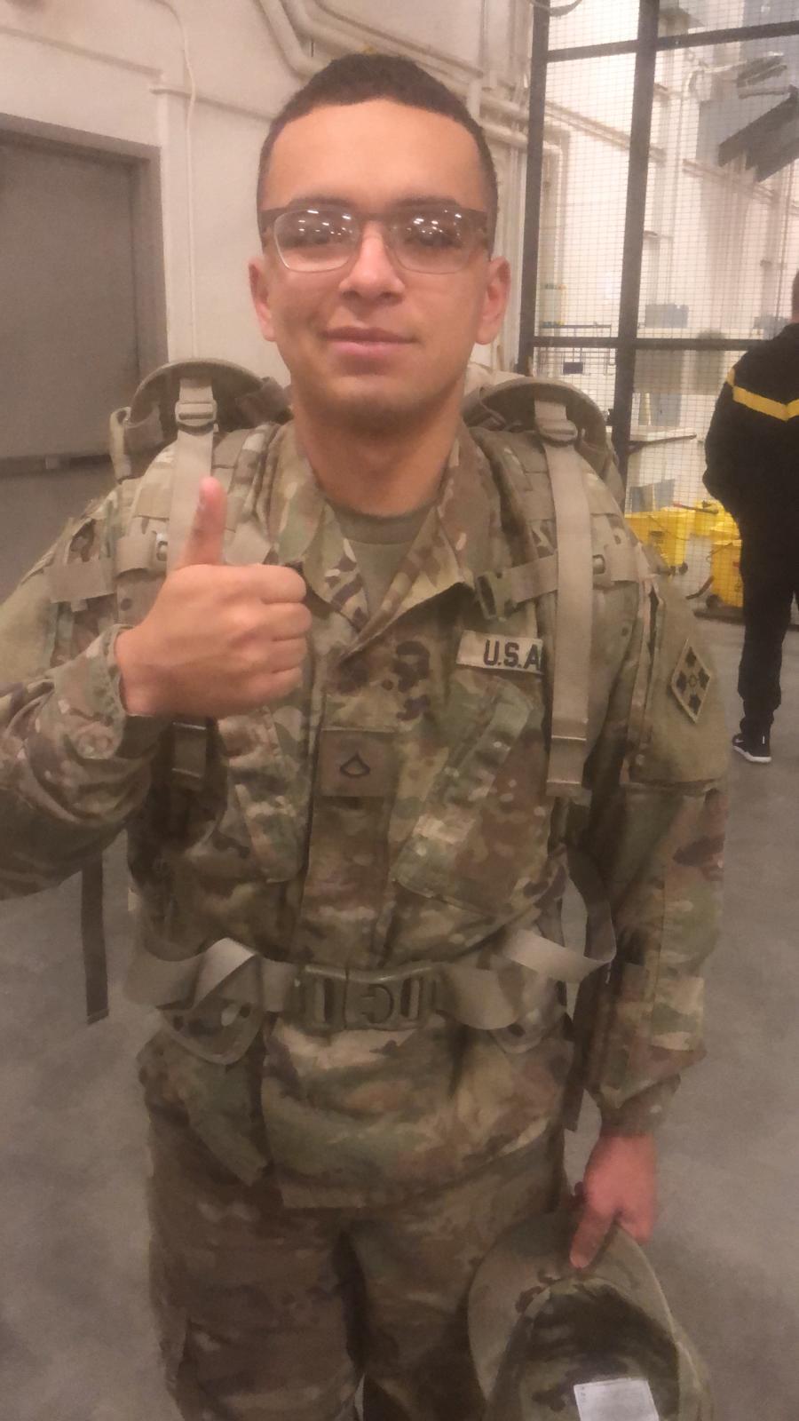 Spc. Michael Osorio Photo courtesy Fort Carson