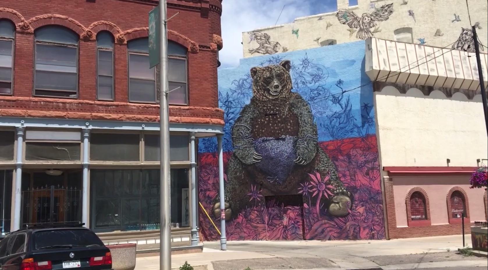 Mural by Matte Refic, Christina Dawidowicz FOX21 News