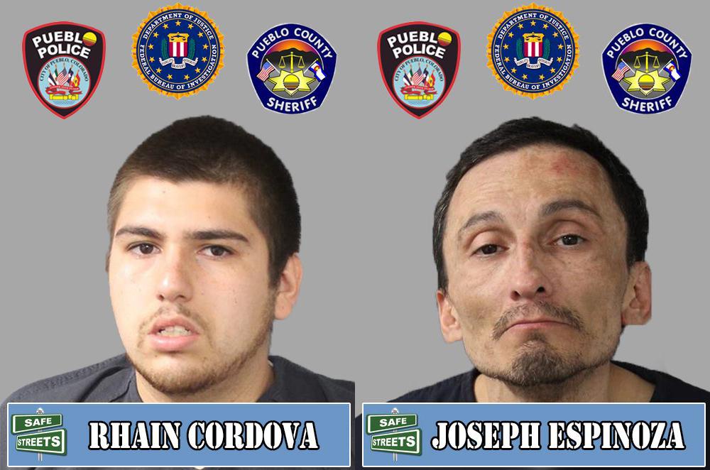 Rhain Cordova and Joseph Espinoza / Pueblo Police Department