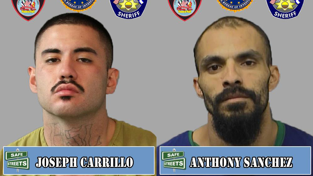 Joseph Carrillo and Anthony Sanchez / Pueblo Police Department