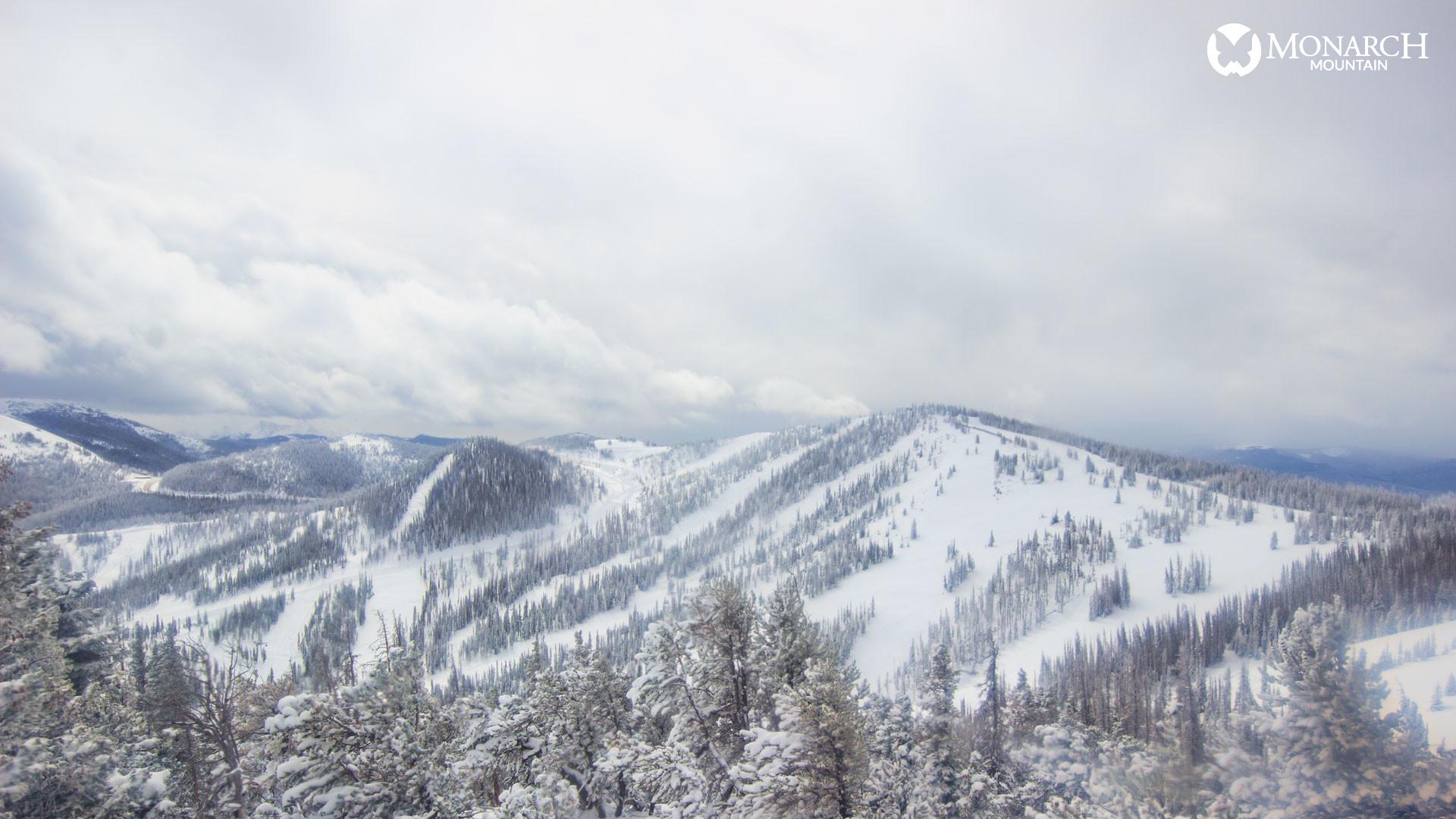 Monarch Mountain around noon Tuesday. / Photo courtesy Monarch Mountain