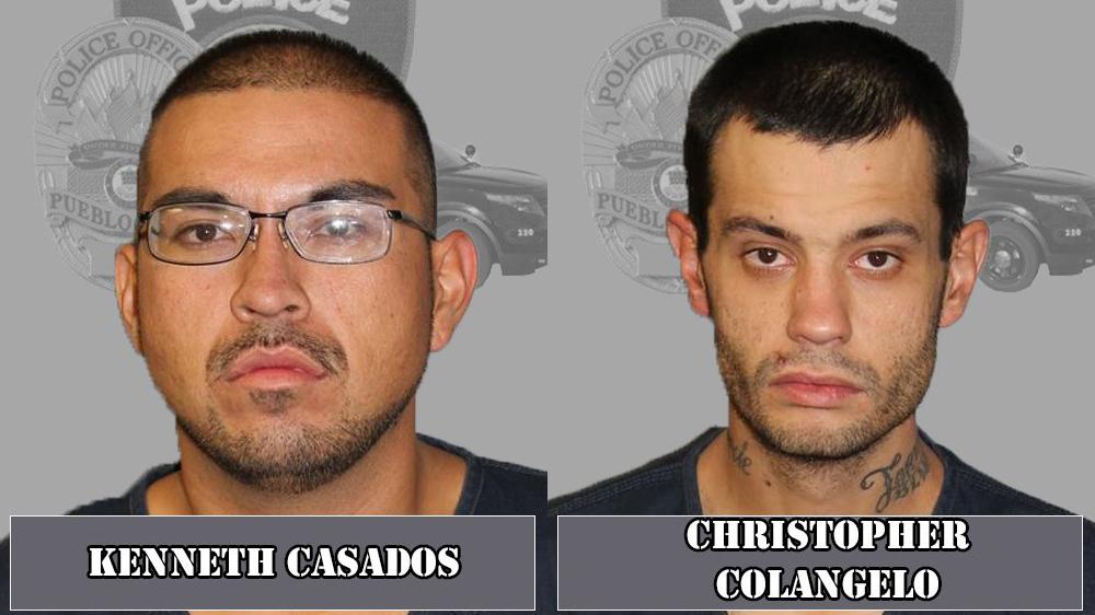 Kenneth Casados and Christopher Colangelo / Pueblo Police Department