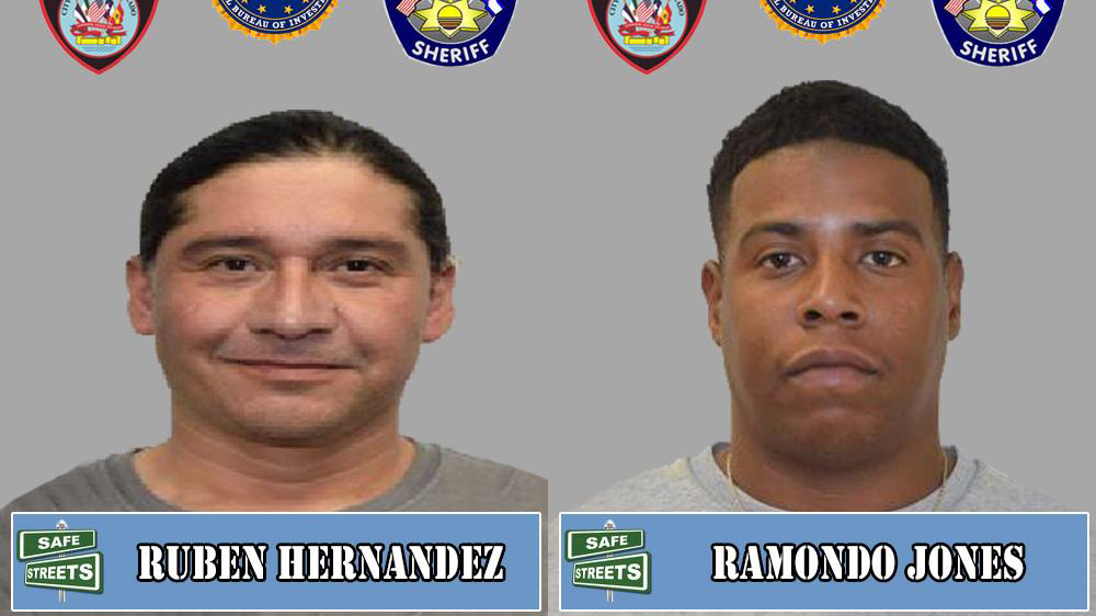 Ruben Hernandez and Ramondo Jones / Pueblo Police Department