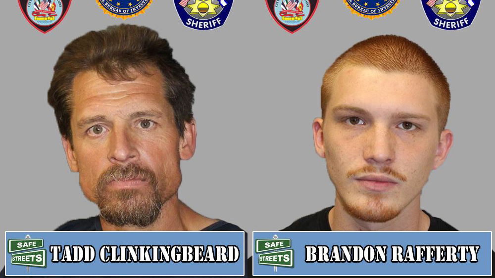 Tadd Clinkingbeard and Brandon Rafferty / Pueblo Police Department
