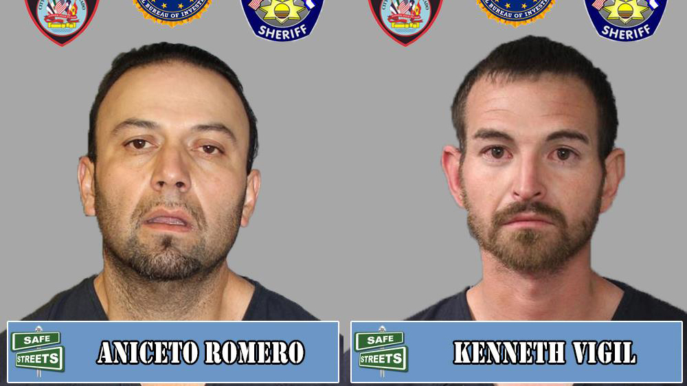Aniceto Romero and Kenneth Vigil / Pueblo Police Department
