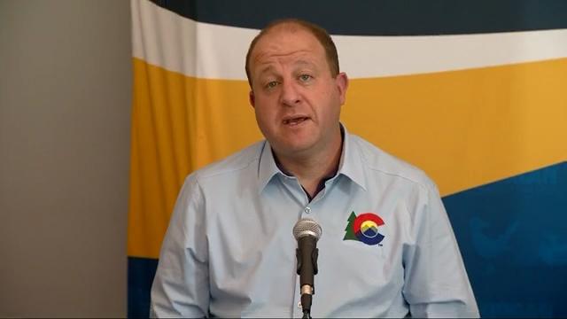 Gov. Jared Polis gives a press conference September 11, 2020. / FOX21 file photo