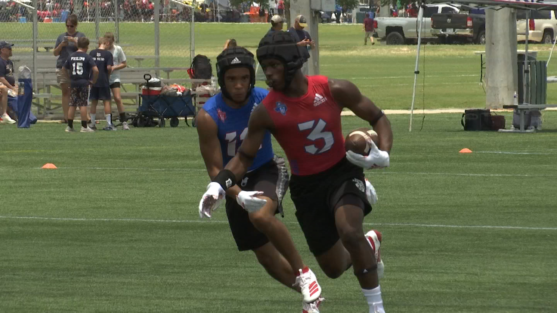 Rogers Finishes 1-2 in State 7 on 7 Tournament Pool Play