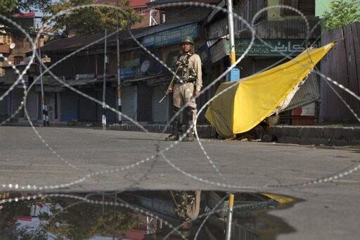 Security in Kashmir tightened following call for march