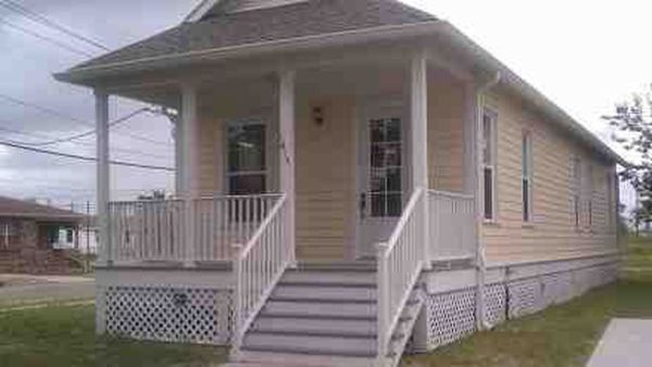 Last batch of Katrina cottages up for sale in 9th Ward
