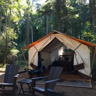 Glamping in Moran State Park plus 10 Glamping Essentials