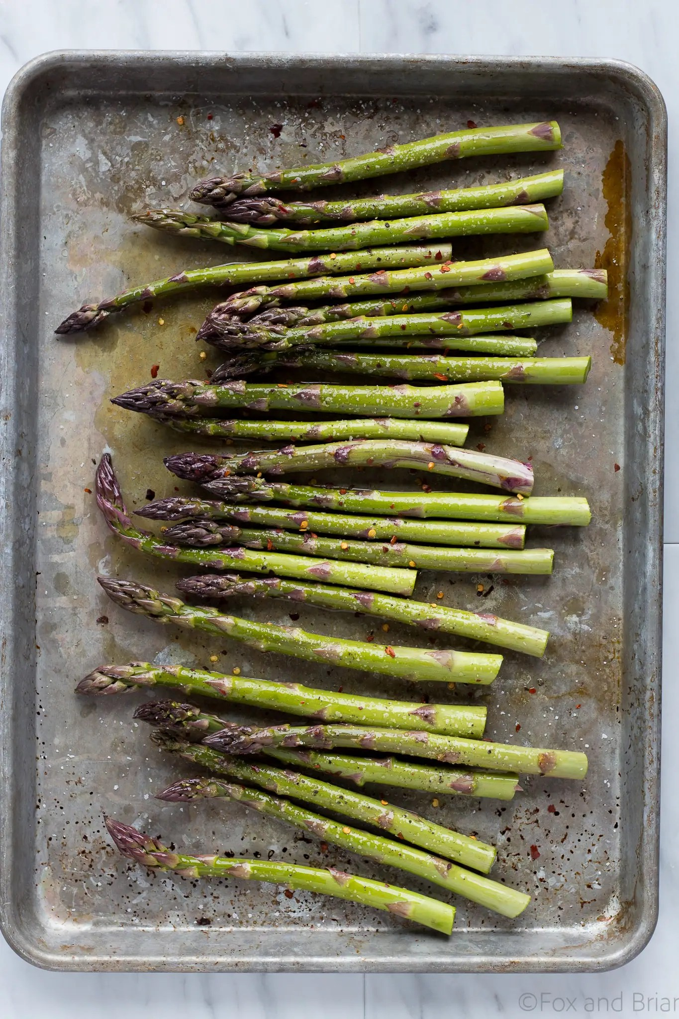 This Roasted Shrimp and Asparagus is a quick one sheet pan meal can be made in about 20 minutes and is tasty and healthy!