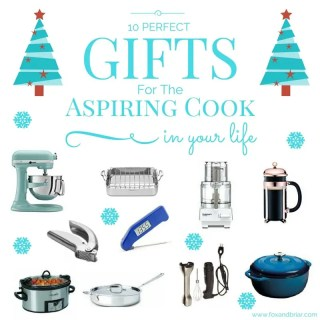 10 Perfect Gifts for the Aspiring Cook in Your Life