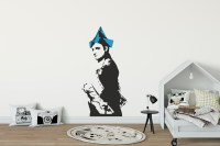 Dot Dot Dot Napoleon Wall Sticker | Banksy Wall Sticker ...