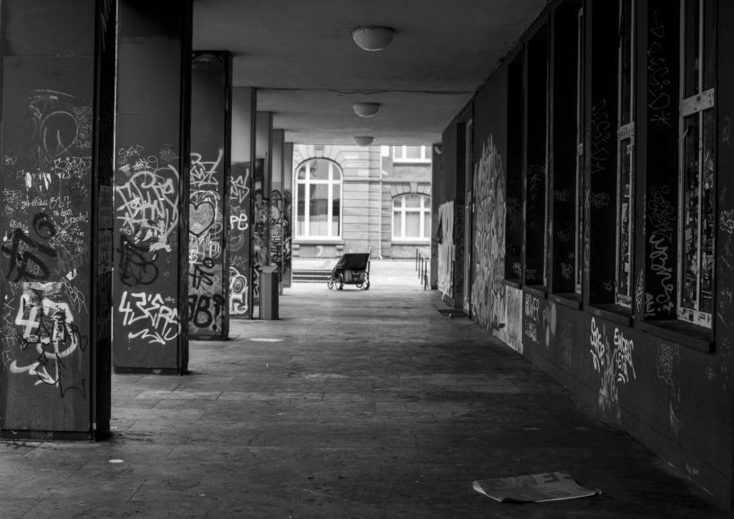 Wheelchair Photography Loneliness Empty Abandoned