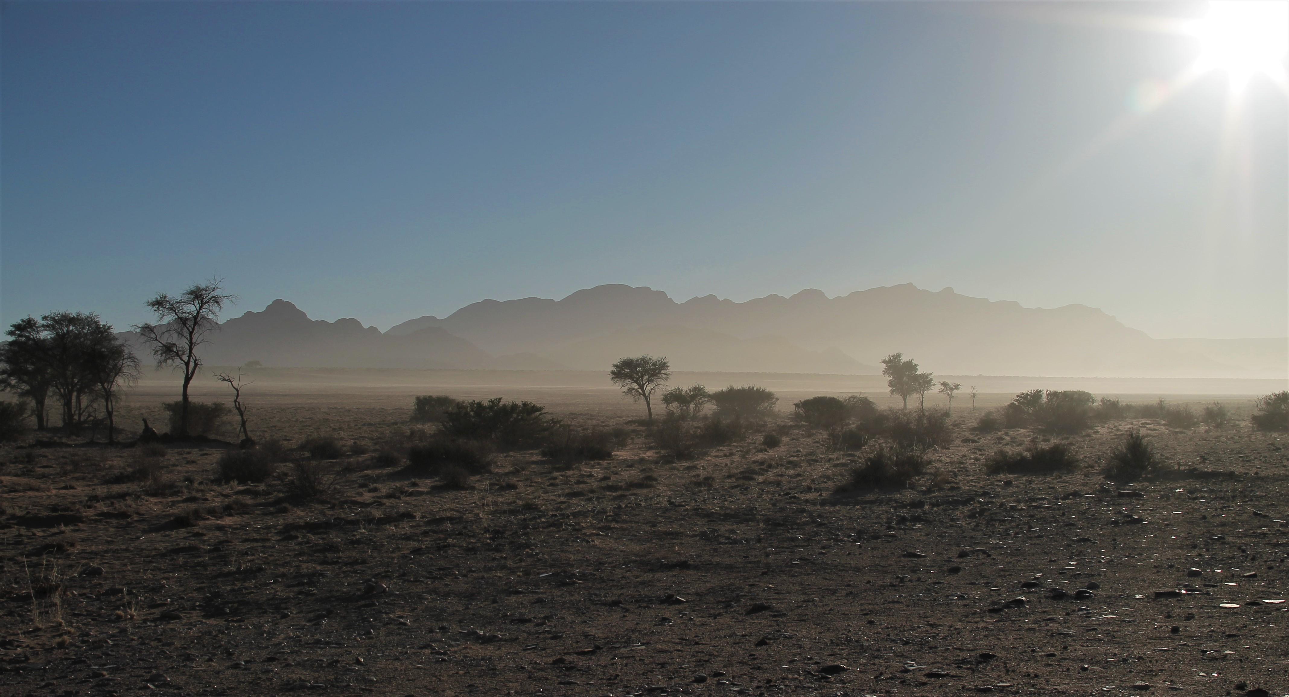 Namibian Desert Photography Nature Dust Mist Morning