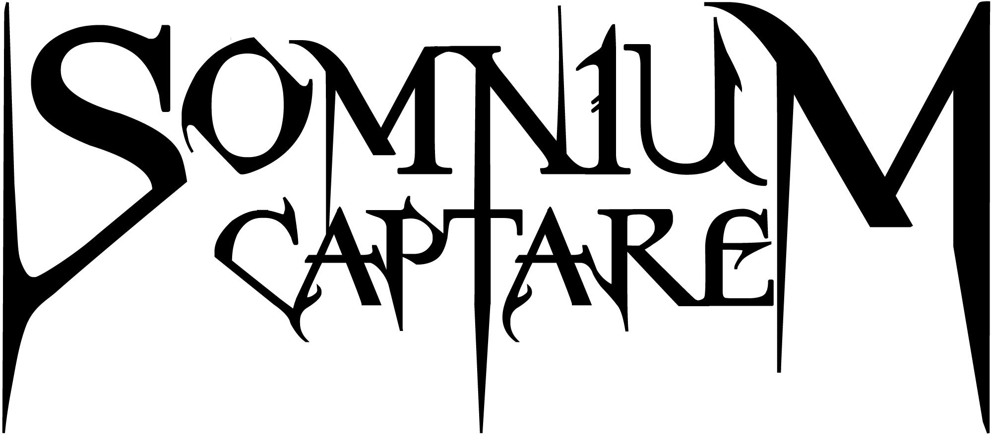 A logo design for a band (Somnium Captare) I got commissioned to do.