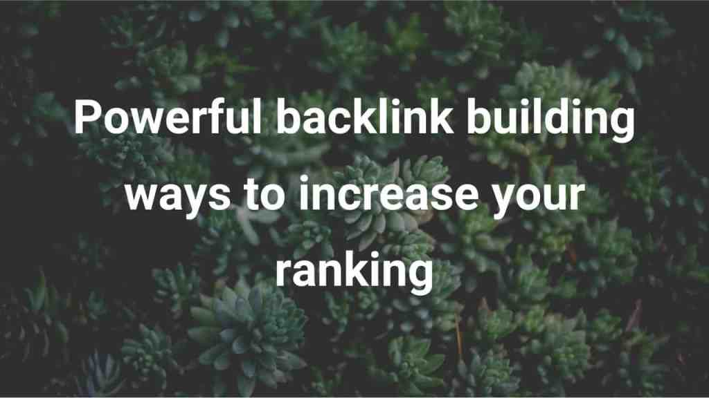 How to Get High Quality Backlinks Online