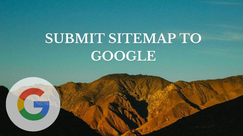 Submit sitemap to Google - Title card