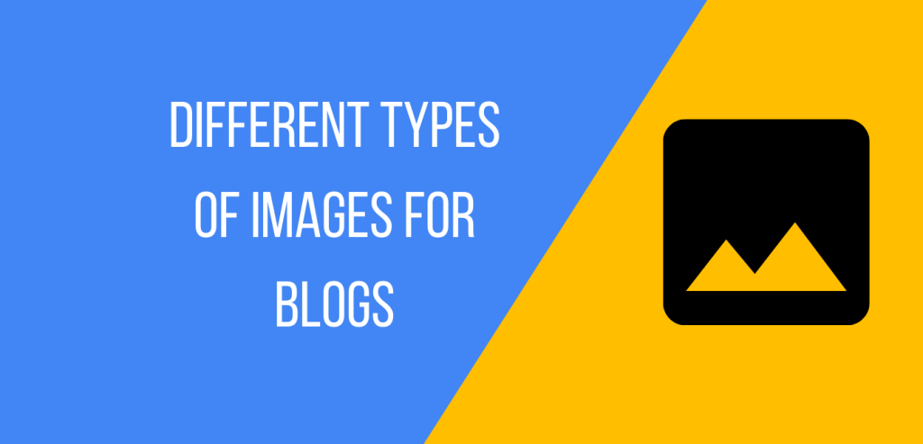 different types of images to use in blog post