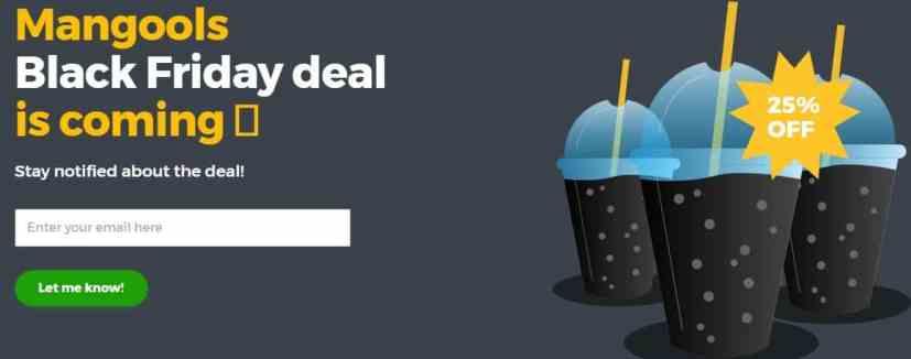 Mangools black friday deals