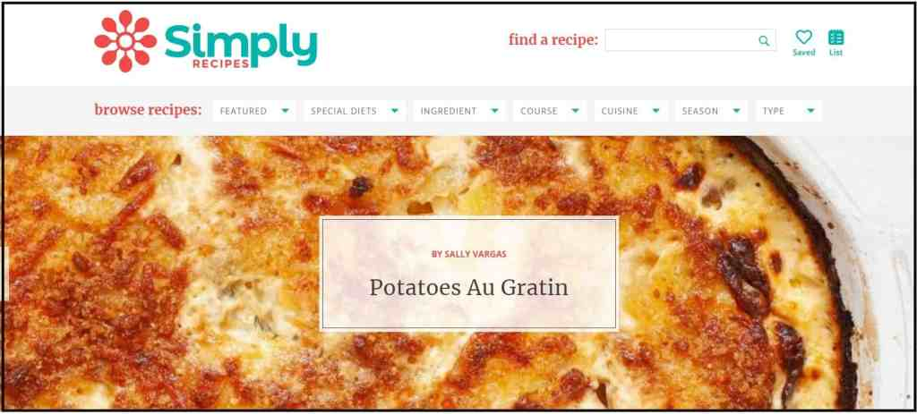 Best Cooking Blogs - Simply recipes